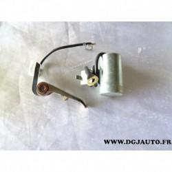 Jeu de contact vis platinée rupteur et condensateur allumage allumeur magneti marelli MKS047 pour renault 4 R4 800CC