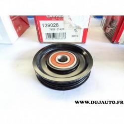 Galet tendeur courroie accessoire T39028 pour peugeot 206 4007 mitsubishi outlander 2 citroen C crosser xsara picasso 2.0 2.2 HD