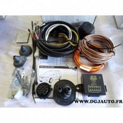 Faisceau attelage attache remorque 13 poles multiplexé DA001DL pour dacia logan MCV partir 2007