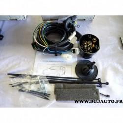 Faisceau attelage attache remorque 7 poles specifique NI021BL pour nissan primera wagon WP12 partir 2002