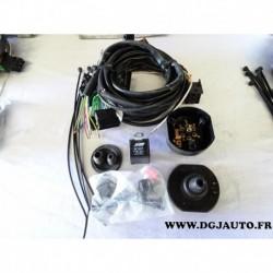 Faisceau attelage attache remorque 7 poles specifique AU004BB pour audi A3 partir 1996