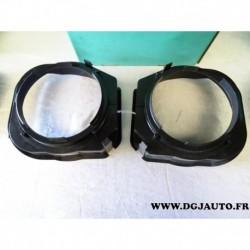 Paire bol support enceinte haut parleur avant 165mm diametre 26.105 pour mercedes classe C