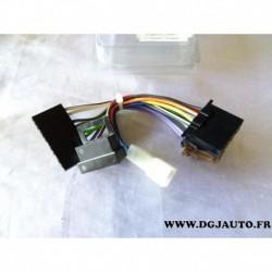 Faisceau cable branchement autoradio specifique 13735 pour mercedes