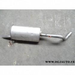 Silencieux echappement arriere 200-261 pour renault kango 1.4 essence 1.9D 1.9 D diesel