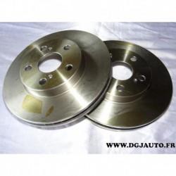 Paire disque de frein avant ventilé 255mm diametre DF4877 pour toyota carina E AT ST19 celica ST200 ZT230