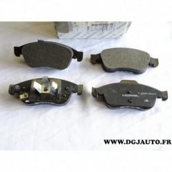 Jeux 4 plaquettes de frein avant montage ATE 77368048 pour fiat 500X 500 X jeep renegade
