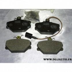 Jeux 4 plaquettes de frein avant montage lucas 5892330 pour fiat tempra tipo uno lancia dedra