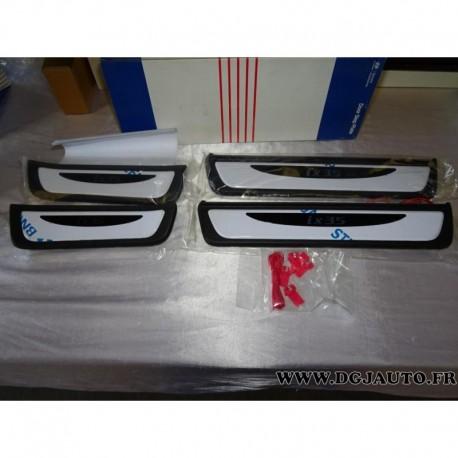 Kit 4 seuils revetement bas de porte rétroéclairé (avant) aluminium 2SF45AB0609P pour hyundai ix35 partir 2010