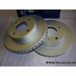 Paire disque de frein avant ventilé 234mm diametre 5171202551 pour hyundai atos