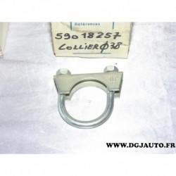 Collier montage silencieux echappement 38mm diametre 59018257 pour fiat lancia alfa romeo renault peugeot citroen mercedes BMW h