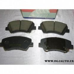 Jeux de 4 plaquettes de frein avant montage bosch 581012VA50 pour hyundai i30 veloster kia ceed