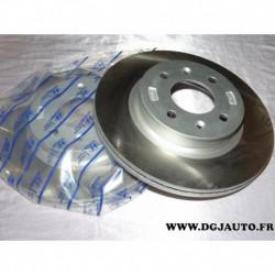 Paire disque de frein avant 256mm diametre ventilé 51712-1J500 pour hyundai i20