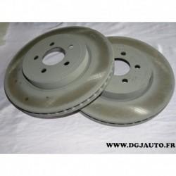 Paire disque de frein avant ventilé 04779197AE pour chrysler 300 dodge challenger charger lancia thema