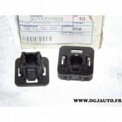 1 bloc taquet support fixation face avant masque 670007603 pour alfa romeo giulietta partir 2010