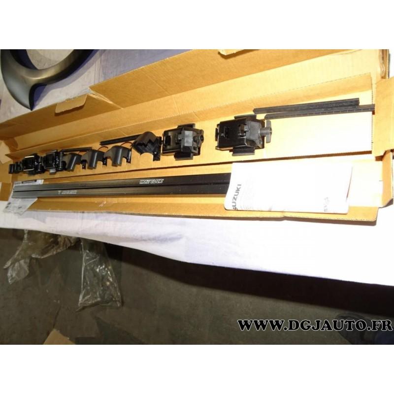 jeux barre de toit mont blanc avec verrouillage 99000 990yt 005 pour suzuki vitara grand vitara. Black Bedroom Furniture Sets. Home Design Ideas