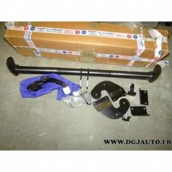Crochet attelage attache remorque sans faisceau boule démontage sans outil A6281ADE11 pour hyundai i30 wagon GD partir 2012