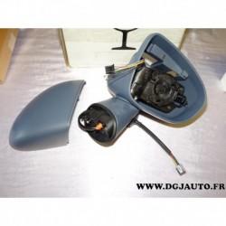 Corps retroviseur electrique avant droit à peindre sans moteur ni glace 13316236 pour opel meriva B partir 2010