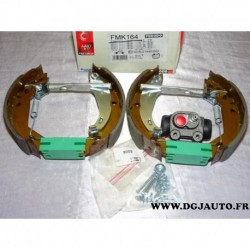Kit frein arriere prémonté 180x42mm montage lucas FMK164* pour renault clio 1 super 5 (MANQUE 1 cylindre de roue)