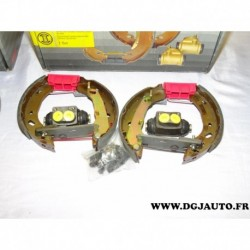 Kit frein arriere prémonté 180x30mm montage lucas 0204114600 pour ford fiesta 4 ka mazda 121