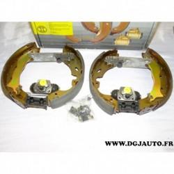 Kit frein arriere prémonté 228x44mm montage lucas 0204114611 pour ford mondeo 1 2 clipper
