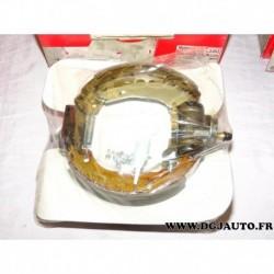 Kit frein arriere prémonté 180x40mm montage bendix EKB450 pour renault 19 R19