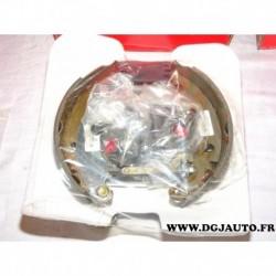Kit frein arriere prémonté 180x40mm montage bendix EBK451 pour renault 21 R21