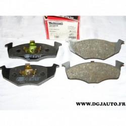 Jeux 4 plaquettes de frein avant montage ATE 1212436 FDB1101 pour volkswagen fox lupo polo 3 4 skoda fabia seat arosa
