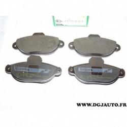 Jeux 4 plaquettes de frein avant montage bendix GDB1299 pour fiat cinquecento punto 1 seicento lancia ypsilon