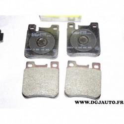 Jeux 4 plaquettes de frein arriere montage ATE 0986460965 pour mercedes classe C CLK E S SLK W124 W140 R129 W210 W202 W203 W208