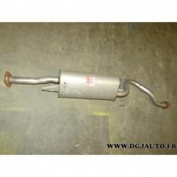 Silencieux echappement central CL175B pour mitsubishi pajero 3.0 3.5 V6 essence 2.8TD 2.8 TD