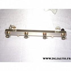 Rampe distributeur injection injecteur 24420542 pour opel astra G H agila A corsa D corsa C meriva A tigra B 1.4 essence