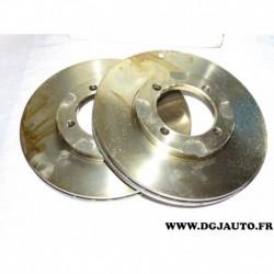 Paire disque de frein avant ventilé 229mm diametre 9004412J pour mazda 626 GC