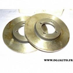 Paire disque de frein avant plein 229mm diametre 9004449J pour mitsubishi galant lancer A5 A A7 A12