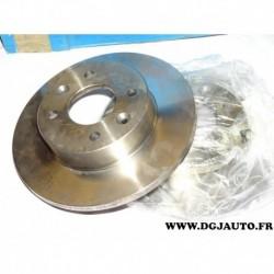 Paire disque de frein avant plein 238mm diametre 9004251J pour renault 18 R18 fugeo