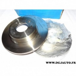 Paire disque de frein avant plein 257mm diametre 9004229J pour fiat argenta regata ritmo 2 3 lancia delta prisma