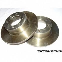 Paire disque de frein plein 280mm diametre 9004462J pour saab 90 99 900