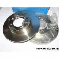 Paire disque de frein avant plein 238mm diametre 9004252J pour renault 9 R9