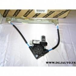 Leve vitre electrique avec moteur porte arriere gauche sans pincement 51980516 pour fiat 500L partir 2012