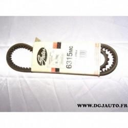Courroie alternateur 11.9x876 pour ford sierra 1.3 1.6 1.8 2.0 essence
