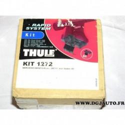 Kit pieds fixation barre de toit KIT1272 pour mercedes classe E W211 4 portes sedan partir 2002