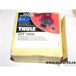 Kit pieds fixation barre de toit KIT1009 pour mercedes 190 W201 W124 W202 W210 classe C E