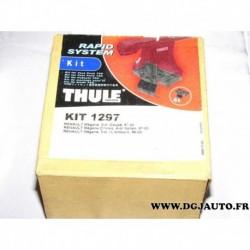 Kit pieds fixation barre de toit KIT1297 pour renault megane dont coupé et classic de 1996 à 2002