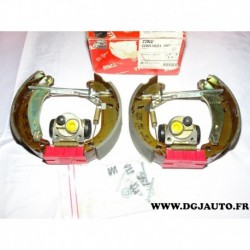 Kit frein arriere prémonté 180x40mm montage bendix GSK1021 pour renault 21 R21