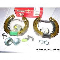 Kit frein arriere prémonté 203x39mm montage lucas FMK426 pour citroen C2 C3