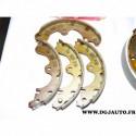 Jeux 4 machoires de frein arriere 180x28mm montage sumitomo GS8554 pour toyota paseo starlet