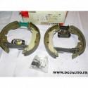 Kit frein arriere prémonté 228.6x45 montage TRW FMK212 pour ford mondeo 1 et 2