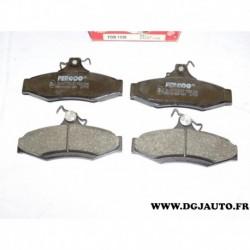 Jeux 4 plaquettes de frein arriere montage lucas FDB1336 pour daewoo ssangyong korando leganza musso nubira