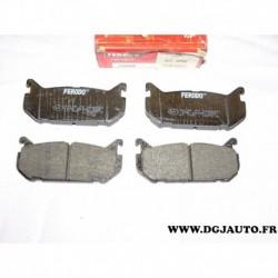 Jeux 4 plaquettes de frein arriere montage sumitomo FDB869 pour mazda 626 MX6 MX-6 xedos 6 ford probe