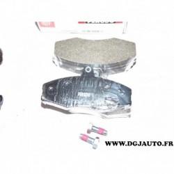 Jeux 4 plaquettes de frein avant montage TRW FDB610 pour skoda favorit felicia volkswagen caddy 2