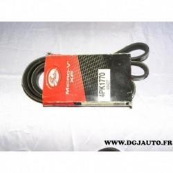 Courroie accessoire 4PK1770 pour toyota yaris 1.0 dont 16V essence partir 1999